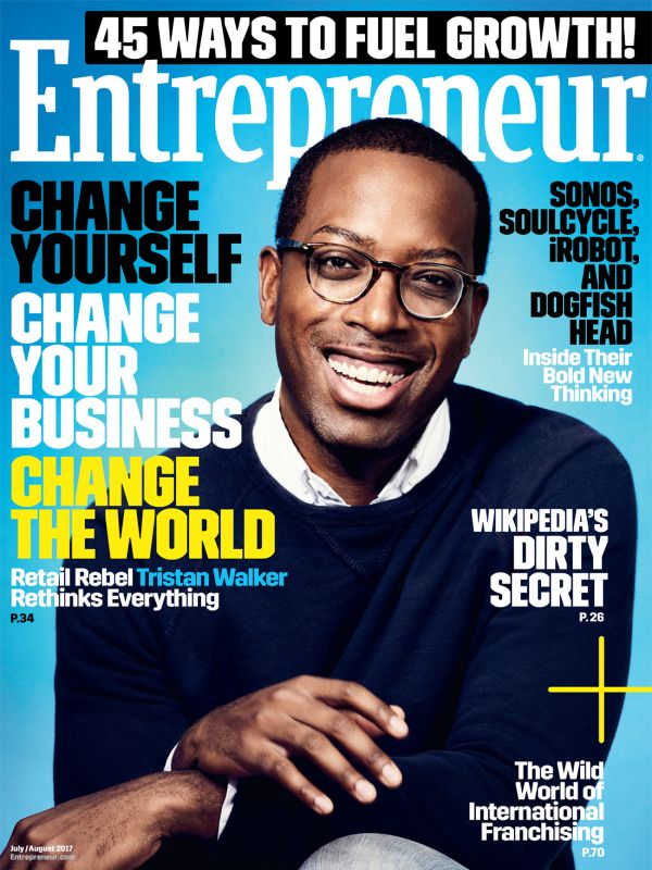 Entrepreneur Magazine July/Aug 2017 Issue – Why I Hit Pause